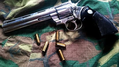 ハンドガンと銃弾